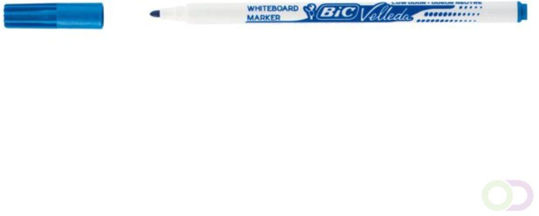 Afbeelding van Bruna Viltstift Bic 1721 whiteboard rond blauw 1.5mm