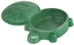 Paradiso Toys zandbak schildpad 115 x 83 cm groen