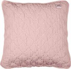 Roze Koeka - Kussenhoes York stonewash - Old Baby Pink