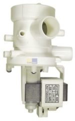 Merloni, Ebd, Ardo, Foron, Seppelfricke, Hanning, Plaset, Siemens, Balay Ablaufpumpe mit Pumpenstutzen und Filter für Waschmaschine 620002800