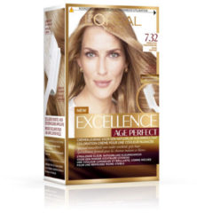 L'Oréal Paris L'Oreal Paris Excellence Age Perfect 7.32 Midden Goud Parelmoerblond