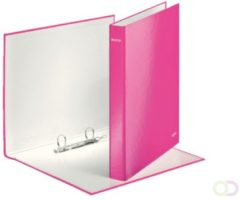 Ringband Leitz WOW A4 2-rings D-mech 25mm karton roze