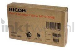 Ricoh inktcartridge DT1500YLW geel, 3000 pagina's - OEM: 888549