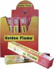 Golden Flame lucifers lang - 60 stuks