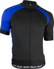 XLC Pro Shirt - Fietsshirt - Heren - Korte Mouw - Maat M - Zwart/Blauw