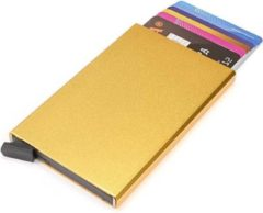 Figuretta Basic Creditcardhouder / RFID Card Protector - 6 Pasjes - Goud