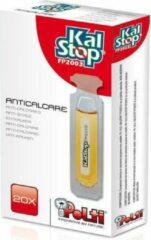 Gele Polti kalstop ontkalker ontkalkingsmiddel - 20st - voor stoomreiniger stoomstrijkijzer origineel vaporella vaporetto
