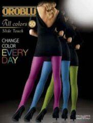 Koraalrode Oroblu all colors 50 panty maat 36/40 (coral 6)