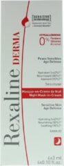 Rexaline Derma Night Mask-in-cream 6x3 ml
