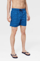 Blauwe Bogner Fire + Ice Bogner Kade Swimming Shorts
