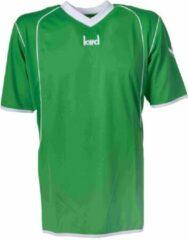 KWD Sportshirt Victoria - Voetbalshirt - Volwassenen - Maat L - Groen/Wit