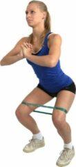 Rode MoVeS Loop Set | 4 banden in verschillende sterktes, van die stevige, dikke, die niet oprollen! | Perzik - oranje - zachtgroen - lichtblauw in mesh bag | trainingsband | fitnessband