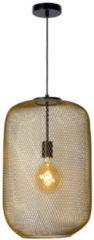 Lucide MESH Hanglamp - Ø 35 cm - 1xE27 - Mat Goud / Messing