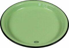 CABANAZ - bord, keramiek, MEDIUM PLATE, groen