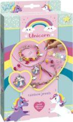 Totum sieraden maken Unicorn Rainbow Jewels meisjes 5-delig