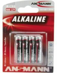 AAA batterij (potlood) Ansmann LR03 Red-Line Alkaline 1.5 V 4 stuk(s)