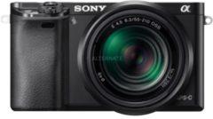 Sony Alpha ILCE-6000Y Set System Kamera, inkl. 2 E-Mount-Objektive (16-50mm & 55-210mm), 24,3 MP