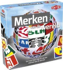 Blauwe Tactic leerspel Merken van de wereld junior karton 52-delig