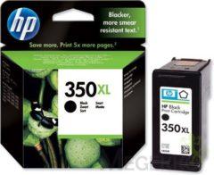 HP 350XL - hoog rendement - zwart - origineel - inktcartridge (CB336EE#UUS)