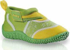 Fashy Groen/gele kinder waterschoenen 25