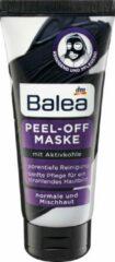 Zwarte DM Balea Gezichtsmasker Peel-Off met actieve kool (100 ml)