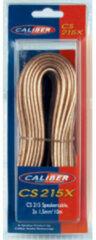 Caliber Accessoire CS215X - Luidsprekerkabel Speakerkabel 2x 1,5mm2- 10 m - Transparant