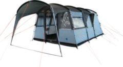10-T Outdoor Equipment 10T Camping-Zelt Bateman 4 Tunnelzelt mit Schlafkabine für 4 Personen Outdoor Familienzelt mit Wohnraum Steilwandzelt mit Sonnendach, eingenähte Boden
