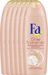 Fa Shower Gel Divine Moments - 6 x 250ml - Voordeelverpakking