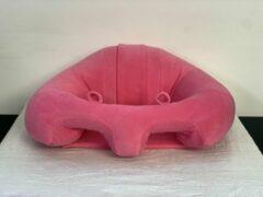 Roze ForYourBaby Babyseat Rose - Babystoeltjes, baby zitje, zitkussen, baby zitten, zitjes voor babys van 3 t/m 18 maanden