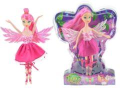 Toitoys Toi-toys Tienerpop Glitterfee Roze 22 Cm