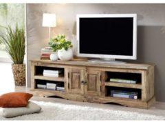 TV-Board ROBIN Massivmoebel24 grau