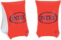 Oranje Intex Large Deluxe Arm Bands - Opblaasbare Zwembandjes, 6-12 jaar