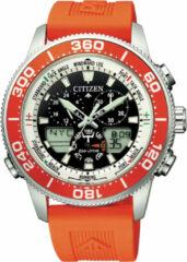 Citizen Promaster Sailhawk JR4061-18E Horloge - Siliconen - Oranje - Ø 44 mm