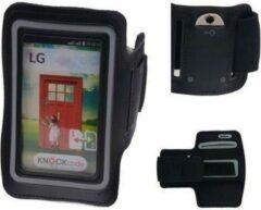 BestCases LG L60 Dual Zwart Sport Armband Neopreen