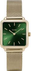 Cluse CW0101207013 Horloge La Garconne Mesh goudkleurig-groen 29 mm