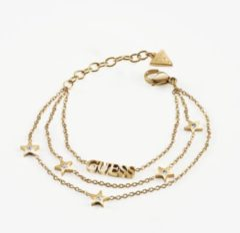 Goudkleurige Guess Jewellery A STAR IS BORN UBB70078-S Volwassenen Armband (sieraad) 18,4cm