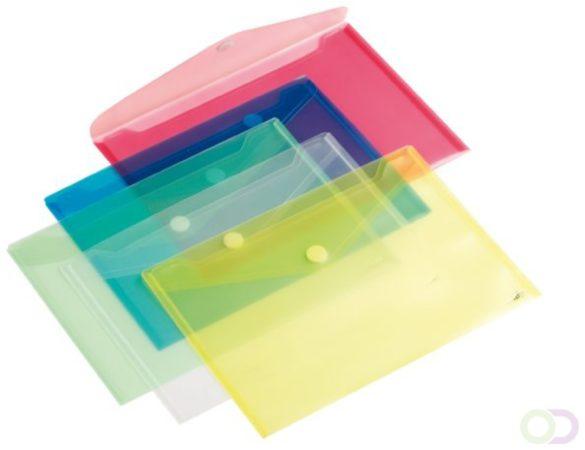 Afbeelding van Enveloptas HF2 A4 dwars geel