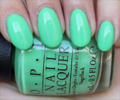 Groene O.p.i. nail lacquer, You are So Outa Lime! nagellak