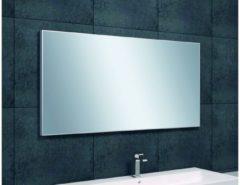 Saqu Simple Spiegel met aluminium lijst 120x60x2,1 cm
