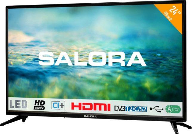 Afbeelding van Salora 2100 series 24LTC2100 tv 61 cm (24'') HD Zwart
