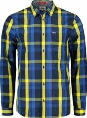 Tommy Hilfiger Tommy Jeans Overhemd - Modern Fit - Geel - XL
