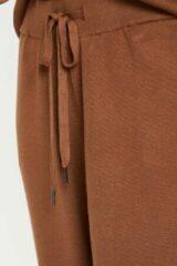 Bruine KAFFE - kakitlyn 7/8 Knit pants