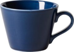 Blauwe GALLO by Villeroy & Boch Group LIKE BY VILLEROY & BOCH GROUP - Organic Dark Blue - Koffiekop 0,27l