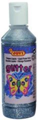 Zilveren Jovi Plakkaatverf Glitter flacon van 250 ml zilver