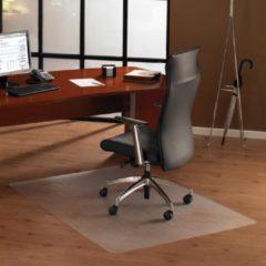 Transparante Floortex vloermat Cleartex Ultimat voor harde oppervlakken rechthoekig formaat 120 x 150 cm