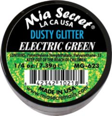 Groene Mia Secret Alpha & Dust Glitter Acrylpoeder Electric Green