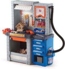 Grijze Step2 Speelgoedwerkbank Deluxe Workshop - Incl. 50-delige accessoire-set