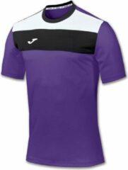 Paarse Joma Crew Shirt Korte Mouw - Violet / Wit / Zwart | Maat: S
