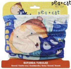 PBS Kids wintersjaal Peg + Cat