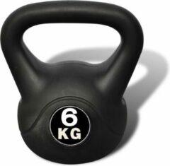 Zwarte VidaXL Kettlebell 6 kg